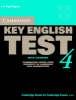 Cambridge ESOL,Cambridge Key English Test 4 Self Study Pack