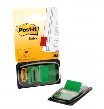 , Indextabs 3M Post-it 680 25.4x43.2mm groen