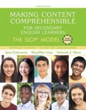 Echevarria, Jana,   Vogt, MaryEllen,   Short, Deborah J. Making Content Comprehensible for Secondary English Learners