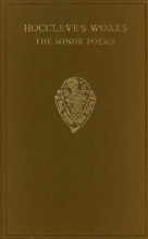 Thomas Hoccleve Hoccleve`s Works: The Minor Poems