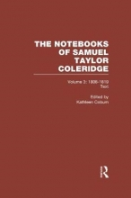 Kathleen Coburn Coleridge Notebooks V3 Text