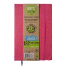 Onyx & Green Journal Red