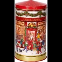 , Kerst muziekdoos van blik