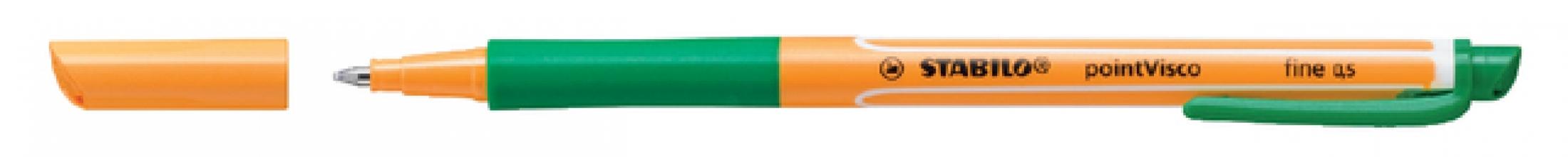 , Rollerpen STABILO PointVisco 1099/36 groen