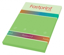 , Kopieerpapier Fastprint A4 80gr helgroen 100vel