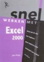 Jan Pott , Snel werken met Excel 2000