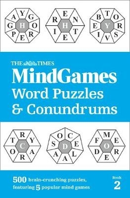 The Times Mind Games,The Times MindGames Word Puzzles and Conundrums Book 2