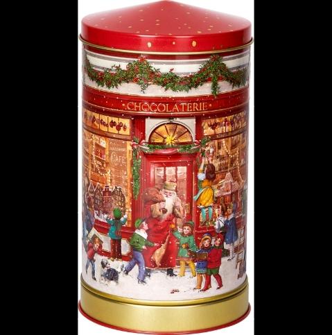 ,Kerst muziekdoos van blik