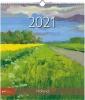 , Maandkalender 2021 nederland in schilderijen 30x34.5