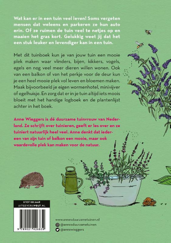 Anne Wieggers,Duurzaam tuinieren voor kinderen