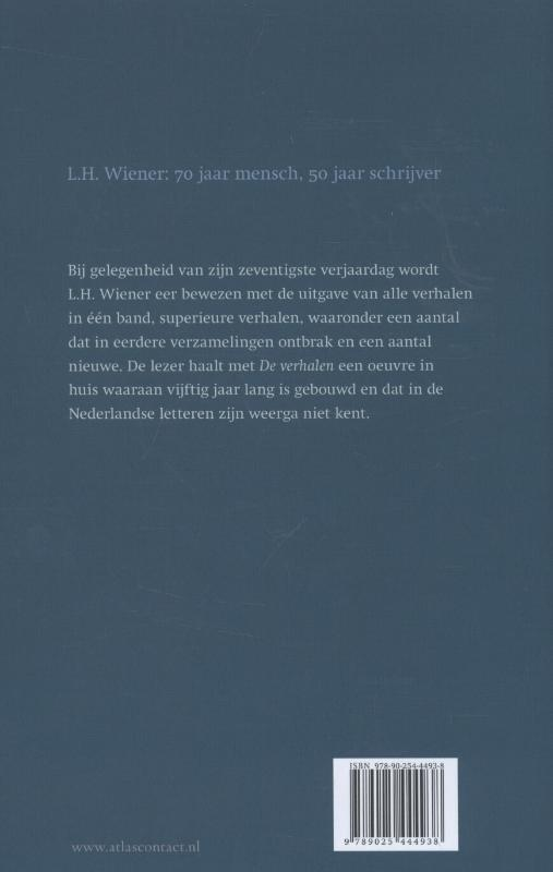 L.H. Wiener,De verhalen