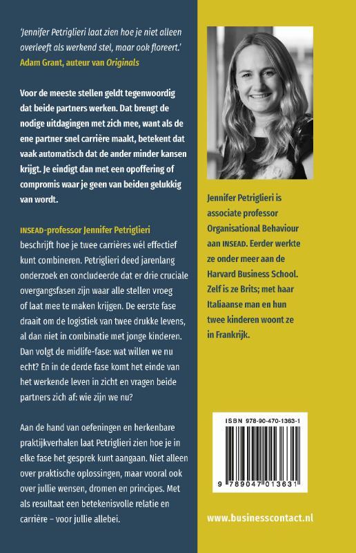 Jennifer Petriglieri,Jouw carrière, mijn carrière
