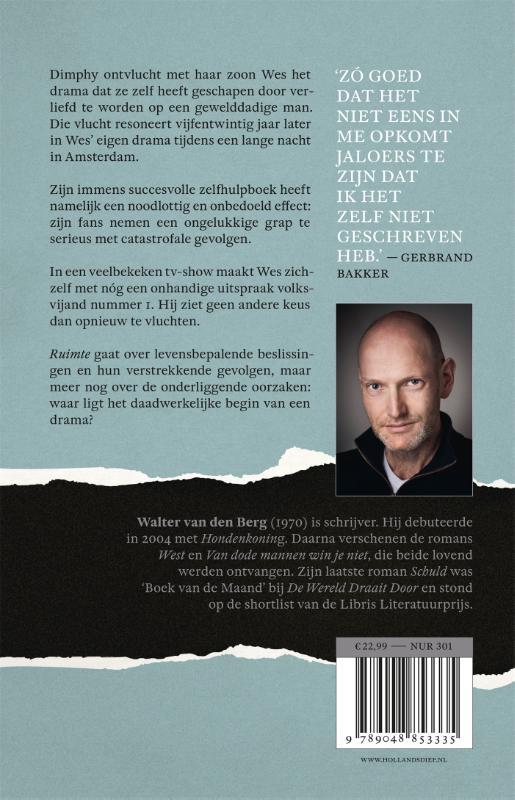 Walter van den Berg,Ruimte