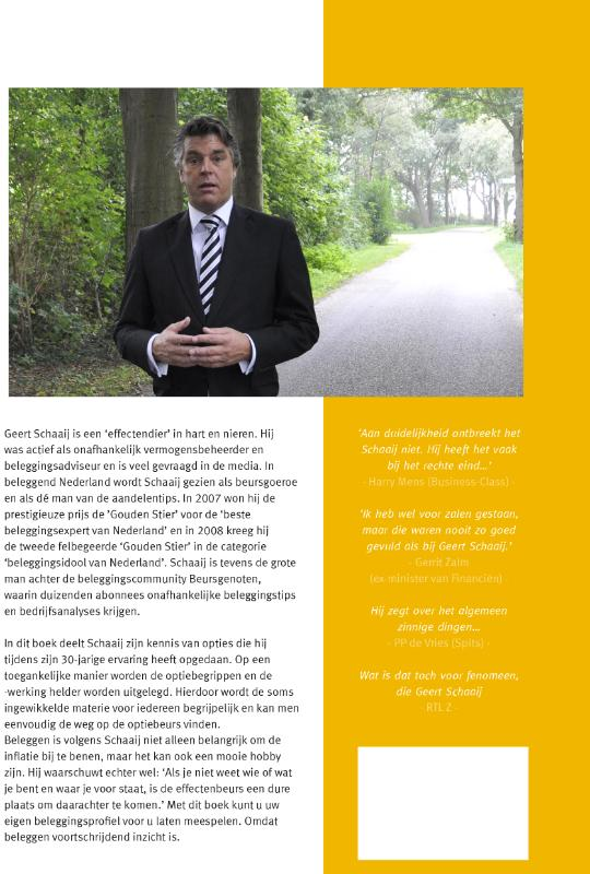 Geert Schaaij,Strategisch beleggen met Geert Schaaij