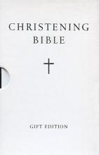 Knowlden, Martin HOLY BIBLE: King James Version (KJV) White Compact Christening Edition
