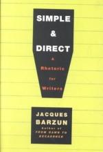 Barzun, Jacques Simple & Direct