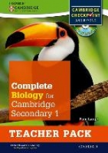 Large, Pam Complete Biology for Cambridge Secondary 1 Teacher Pack