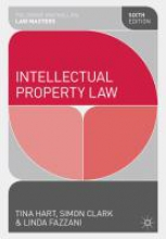 Hart, Tina Intellectual Property Law