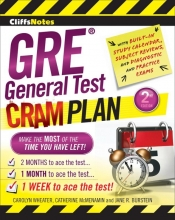 Carolyn C. Wheater,   Catherine McMenamin,   Jane R. Burstein CliffsNotes GRE General Test Cram Plan: 2nd Edition