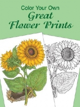 Charlene Tarbox Color Your Own Great Flower Prints