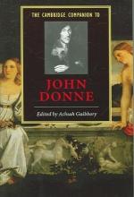 Guibbory, Achsah Cambridge Companion to John Donne