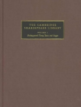 The Cambridge Shakespeare Library 3 Volume Hardback Set