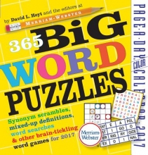 Hoyt, David L. 365 Big Word Puzzles Page-A-Day Calendar 2017