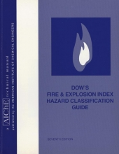 American Institute of Chemical Engineers Dow`s Fire and Explosion Index Hazard Classification Guide