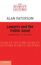 Paterson, Alan Lawyers and the Public Good