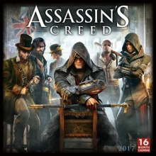 Assassin`s Creed 2017 Calendar