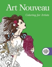 Skyhorse Publishing Art Nouveau: Coloring for Artists