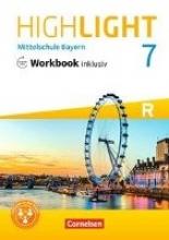 Highlight - Mittelschule Bayern - 7. Jahrgangsstufe - Workbook inklusiv mit Audios online