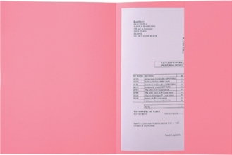 , Dossiermap Exacompta Super 160gr 1klep roze