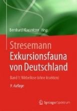 Bernhard Klausnitzer Stresemann - Exkursionsfauna von Deutschland. Band 1: Wirbellose (ohne Insekten)