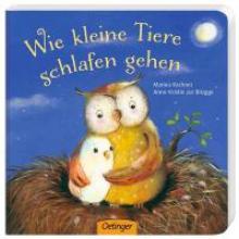 Anne-Kristin ZurBrügge, Wie kleine Tiere schlafen gehen
