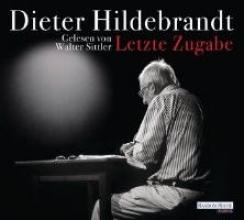 Hildebrandt, Dieter Letzte Zugabe