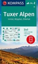 , Kompass WK34 Tuxer Alpen