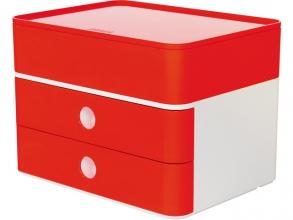 , Smart-box plus Han Allison 2 lades en box kersen rood