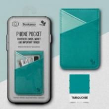 , Bookaroo Phone Pocket - Turquoise