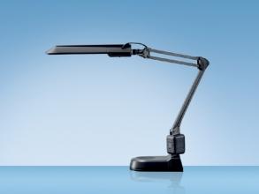 , Bureaulamp Hansa met spaarlamp Ecostar zwart