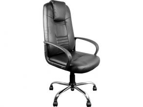 , Luxe executive bureaustoel, in hoogte verstelbaar met een   uitstekend zitcomfort, zwart