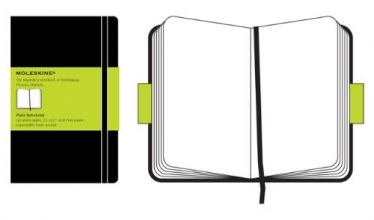 Moleskine Plain Notebook/Carnet a pages blanches
