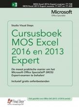 Studio Visual Steps , Cursusboek MOS Excel 2016 en 2013 Expert