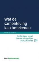 Gabriël van den Brink , Wat de samenleving kan betekenen