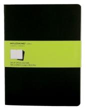 , Schrift Moleskine blanco XL 190x250mm 240blz zwart