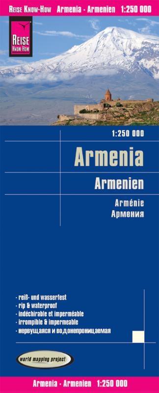 ,Reise Know-How Landkarte Armenien 1 : 250.000