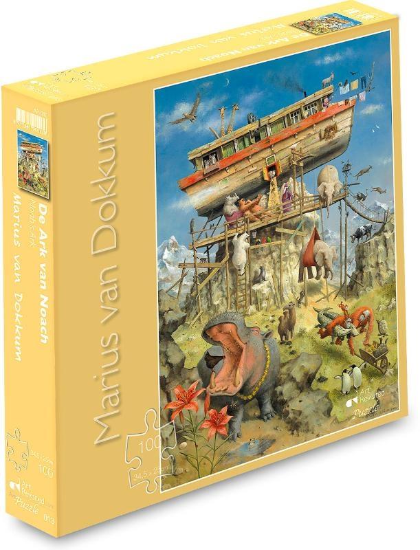 ,De Ark van Noach Puzzel 100 stukjes