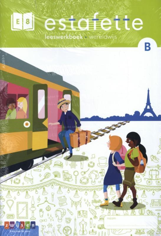 ,Estafette E8 B leeswerkboek
