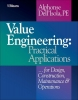 Dell`Isola, Alphonse,Value Engineering