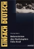Mann, Thomas,Bekenntnisse des Hochstaplers Felix Krull: Gymnasiale Oberstufe